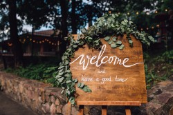 welcome-sign - Wedding Catering Melbourne